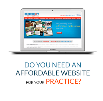 Do You Need An Affordable Website For Your Practice?